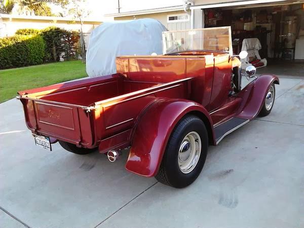 1929 Ford Roadster Pickup Auto Restorationice
