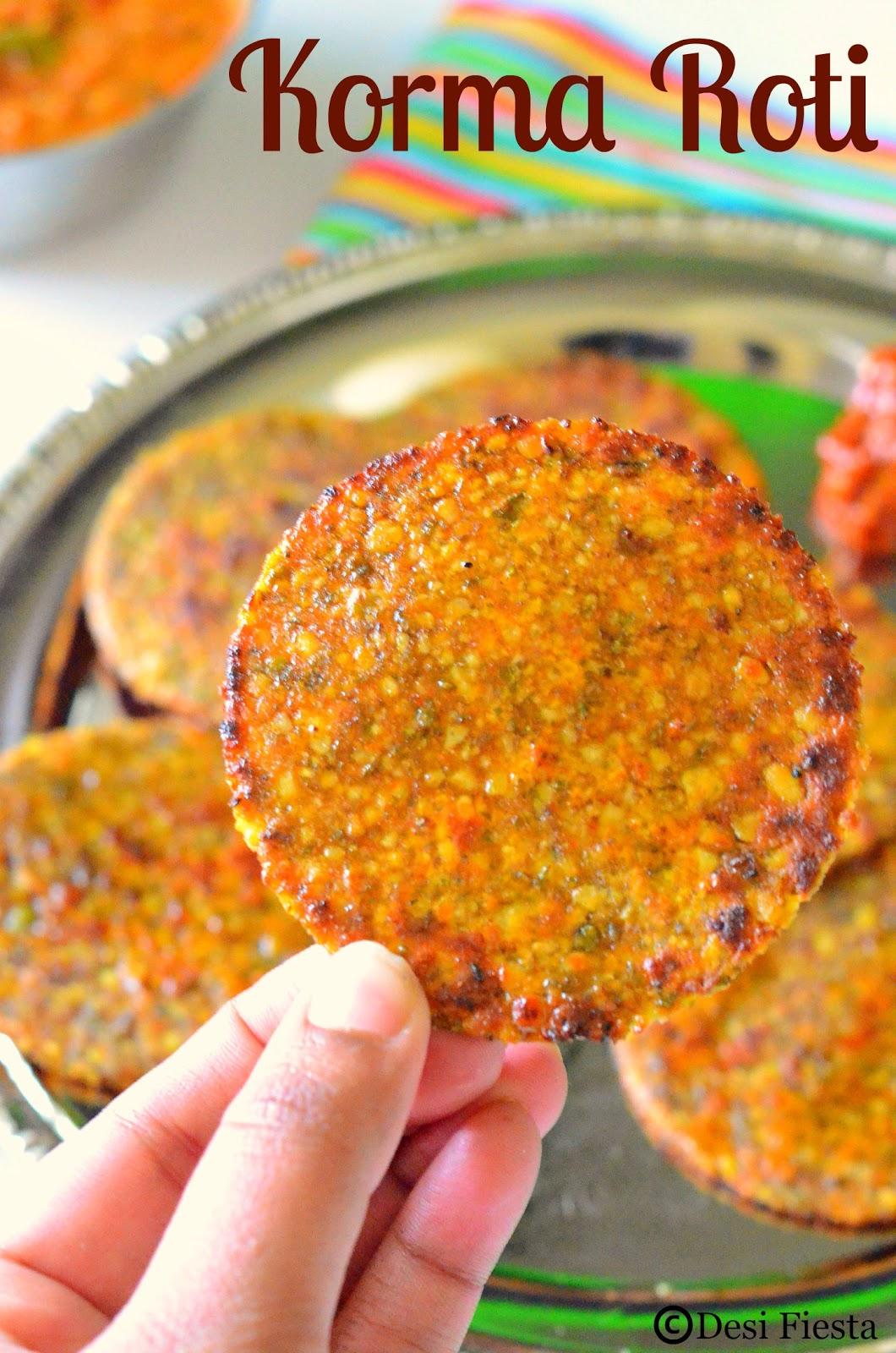 Rajasthani roti recipe