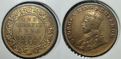 george v quarter anna 1927