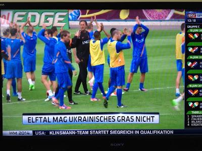 Nachrichten Teaser: Elftal mag ukrainisches Gras nicht