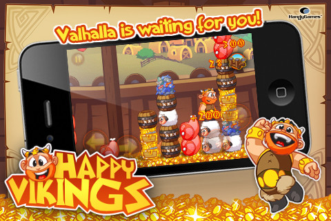Mobile Games Free Download: Happy Vikings Android iPhone iPad Free