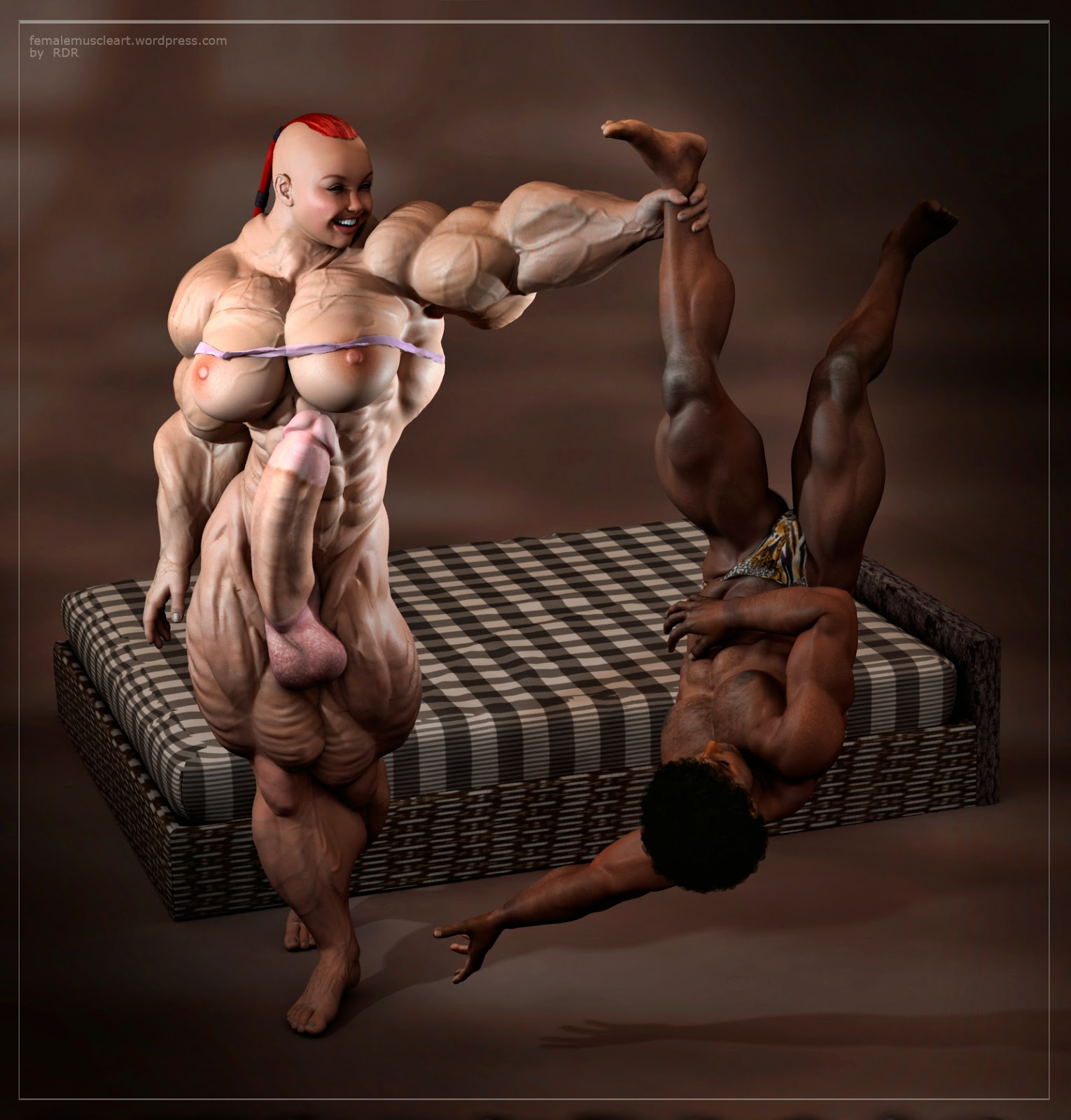 3d muscle women sex nackt movie