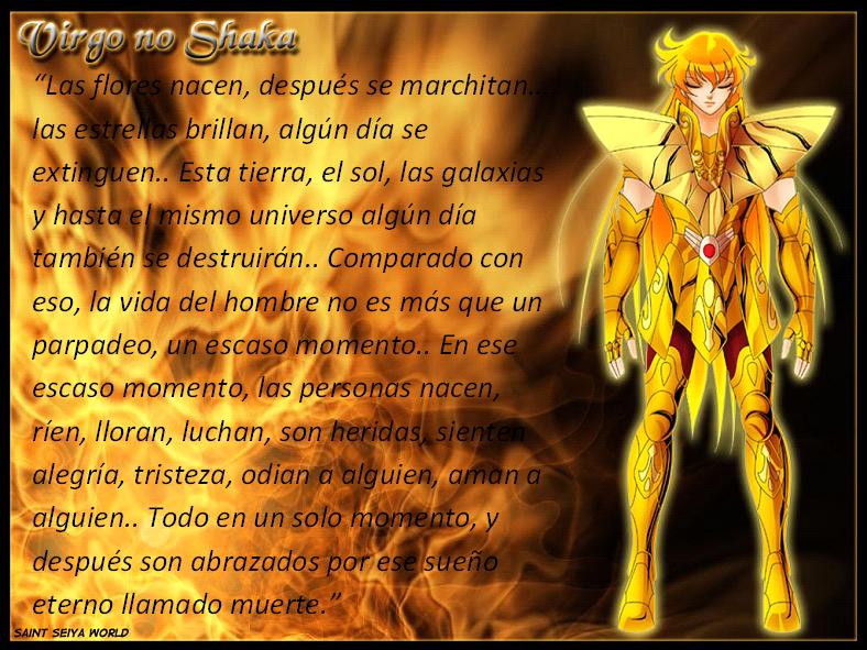 Frases con fotos del anime. SHAKA+DE+VIRGO