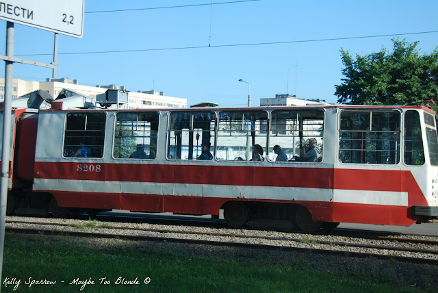 St. Petersburg street car, Russia
