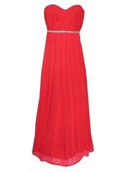 vestido rojo apparentia