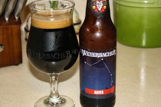 Weyerbacer Brewing, Aries, Pumpkin, Stout
