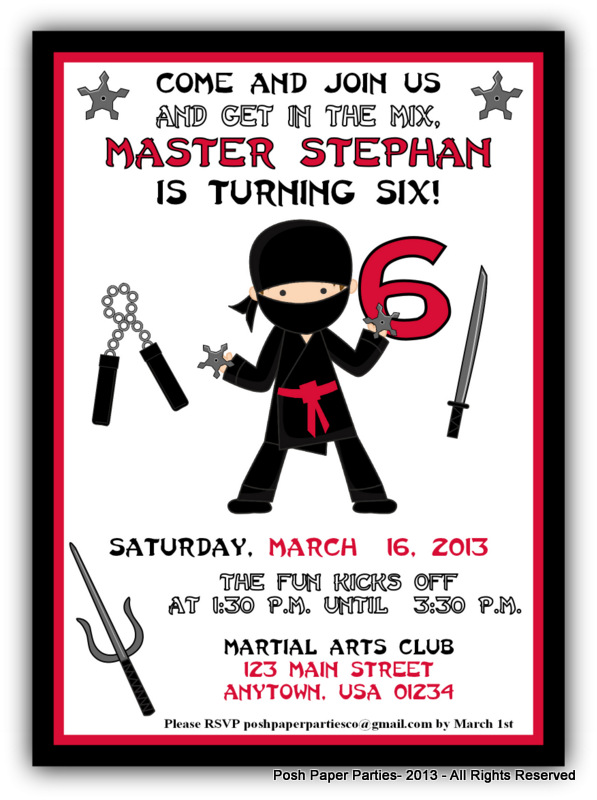 We started from scratch i purchased beautiful ninjas clip art and