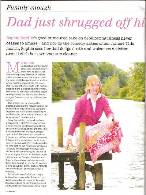 Sophie Neville featured in the June edition of iBelieve the humorous and inspirational Christian lifestyle magazine