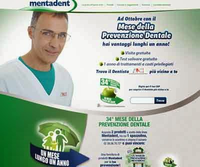mentadent Mese della Prevenzione Dentale