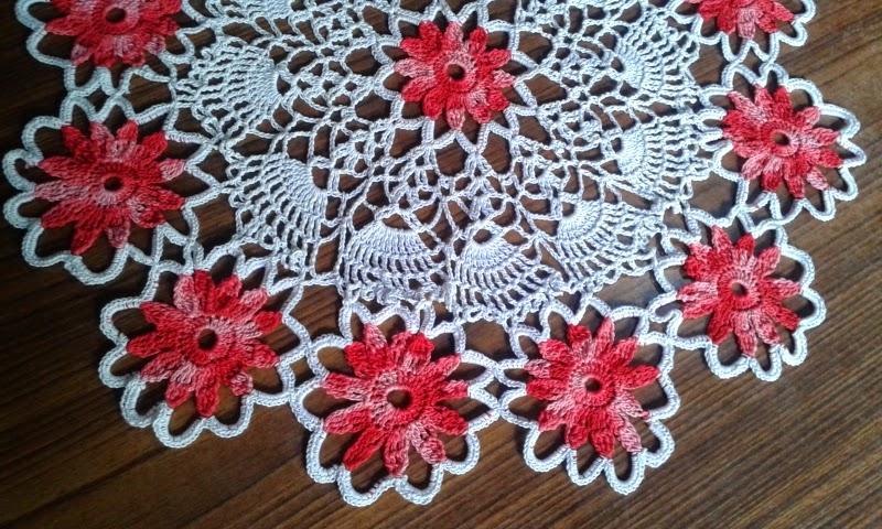 Black Eyed Susan Doily Free Crochet Patterns