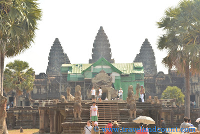 Angkor Wat Entrance (under renovation)