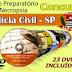 Provas e gabaritos da  Polícia Civil-SP - Auxiliar de Necropsia   - 2014 - Apostilas - DVDs