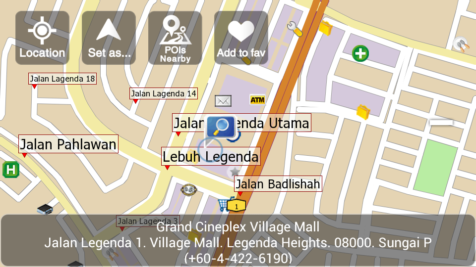 papago gps for android free