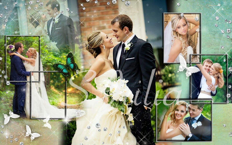Коллажи онлайн бесплатно свадебные