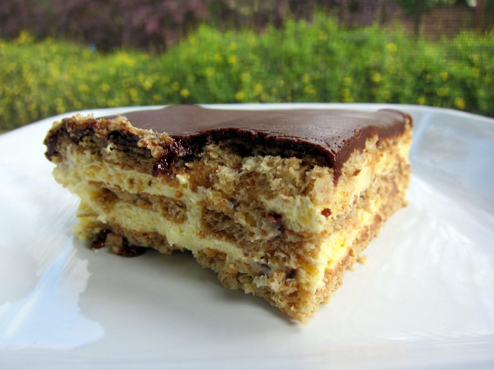 Chocolate Eclair Cake - Plain Chicken