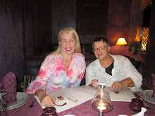 Mom and I at Restaurant Dinarjat