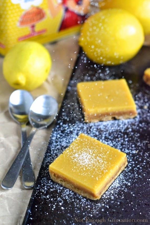 Featured Recipe | Lemon Pie Bars from Not Enough Cinnamon #SecretRecipeClub #recipe #lemon #dessert #bars