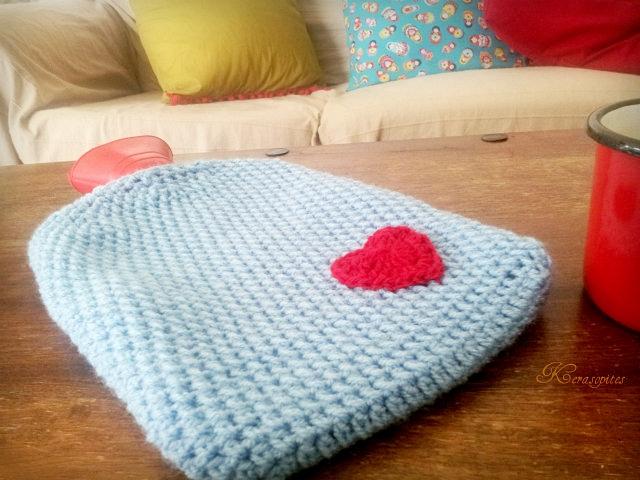 Crochet Hot Water Bottle Cover by Kerasopites   Little Things Blogged