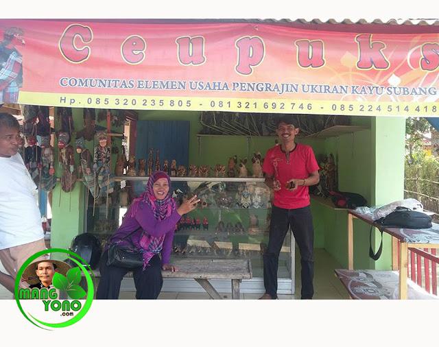 Toko Ceupuks (Comunitas Elemen Usaha Pengrajin Ukiran Kayu Subang )
