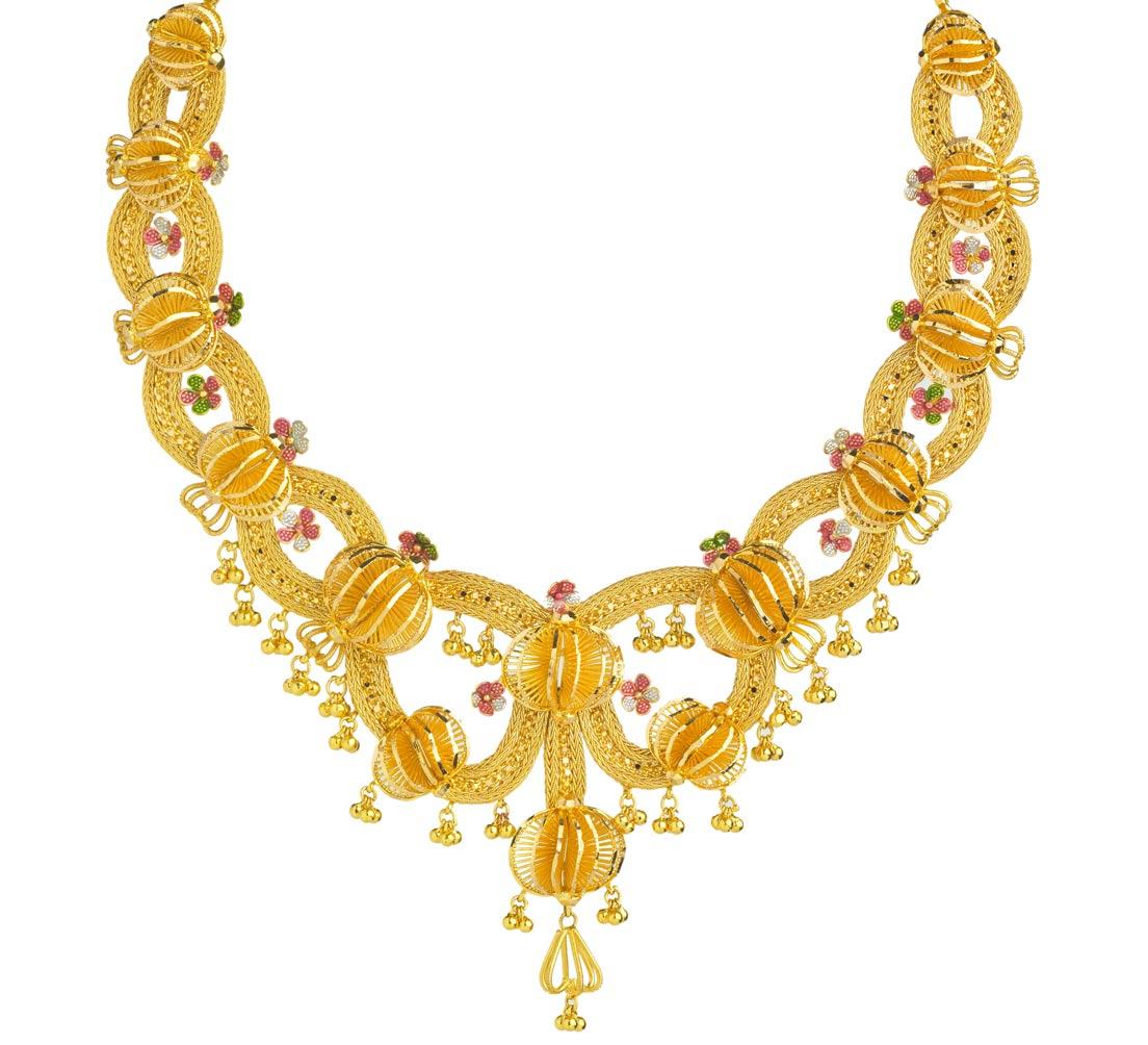 Kerala Jwellery Necklace Designs