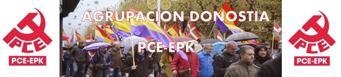 Agrupación Donostia del Partido Comunista de Euskadi-EPK