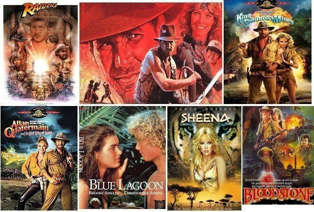 Kalandfilmek a 80-as évek legjobb kalandfilmjei