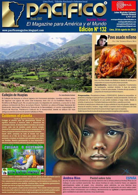 Revista Pacífico Nº 132 Turismo