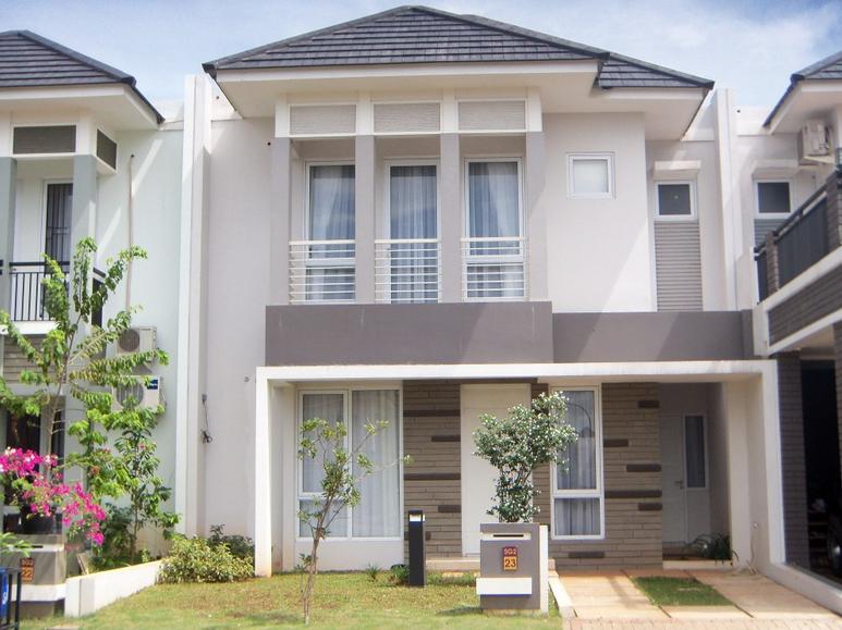 Rumah Minimalis Dua Lantai Modern dan Terbaru