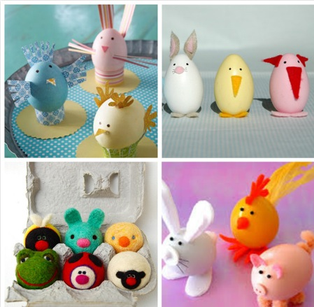 Fun DIY easter eggs