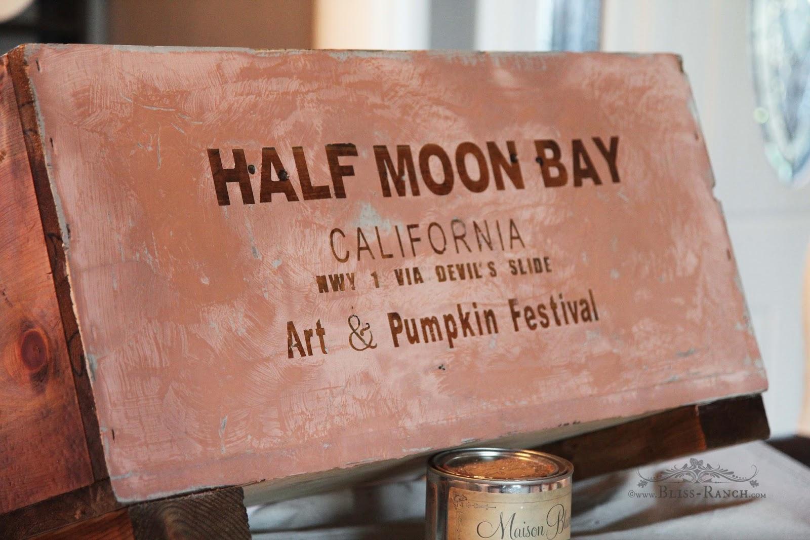 Half Moon Bay Crate Bliss-Ranch.com
