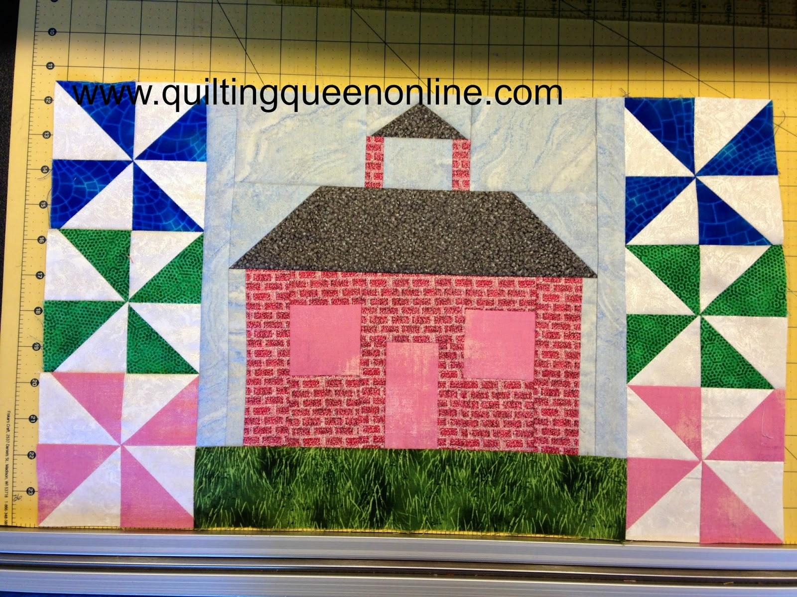 MYSTERY SEASONAL SAMPLER SEPTEMBER 2014 | The Quilting Queen Online