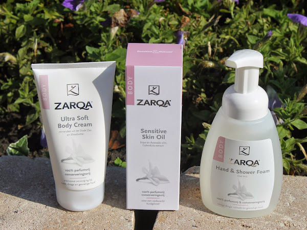 Zarqa Hand & Shower Foam, Sensitive Skin Oil & Ultra Soft Body Cream.
