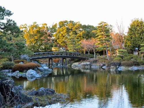 Shirotori Garden Nagoya, Aichi, Japan.