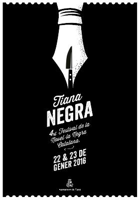 Cartell de Tiana Negra 2016