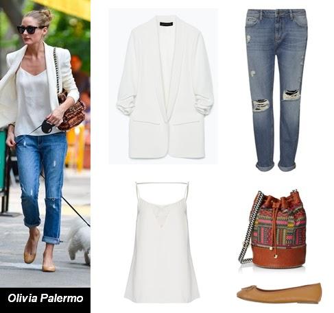 Olivia Palermo, outfit, blazer, americana, wayuu