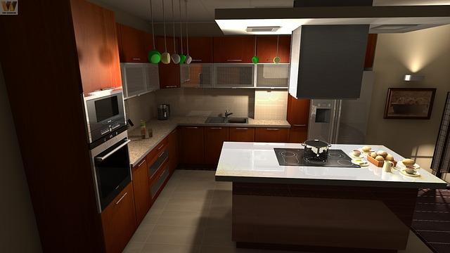 Desain Interor Ruang Dapur Super Mewah