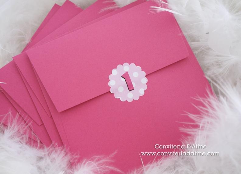 Minnie convites personalizados