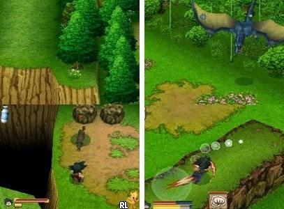 Dragon Ball origins game nds rom download free descargar grtais