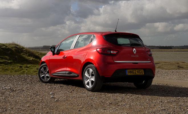 Renault Clio Eco rear view