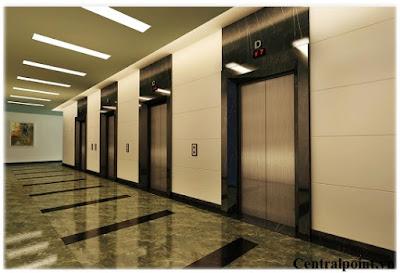 Hệ thống thang máy hiện đại