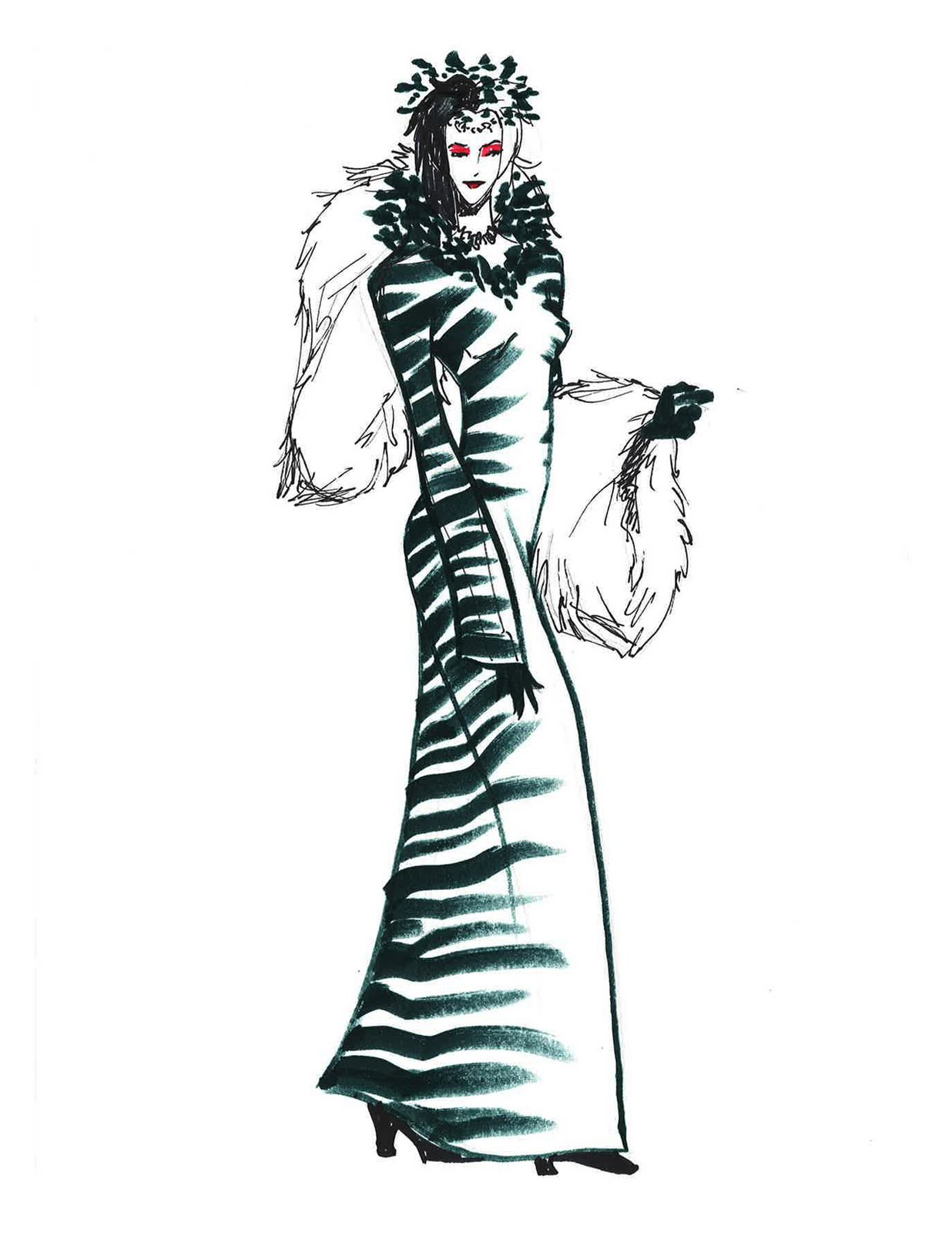 Cruella de vil fashion 13