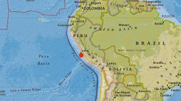 Sismo de 5,4 grados en la escala de Richter remeció este martes a Lima el 03 de Junio 2014