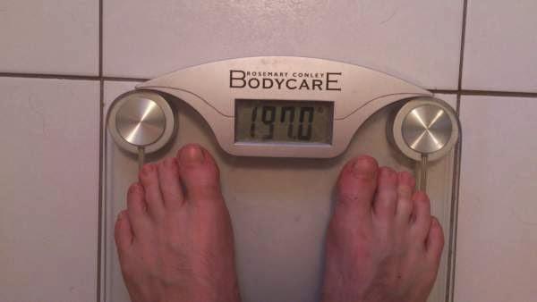 Overweight Half Marathon Runner