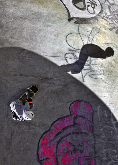 Ashbridges Bay Toronto Canada Skateboard Park