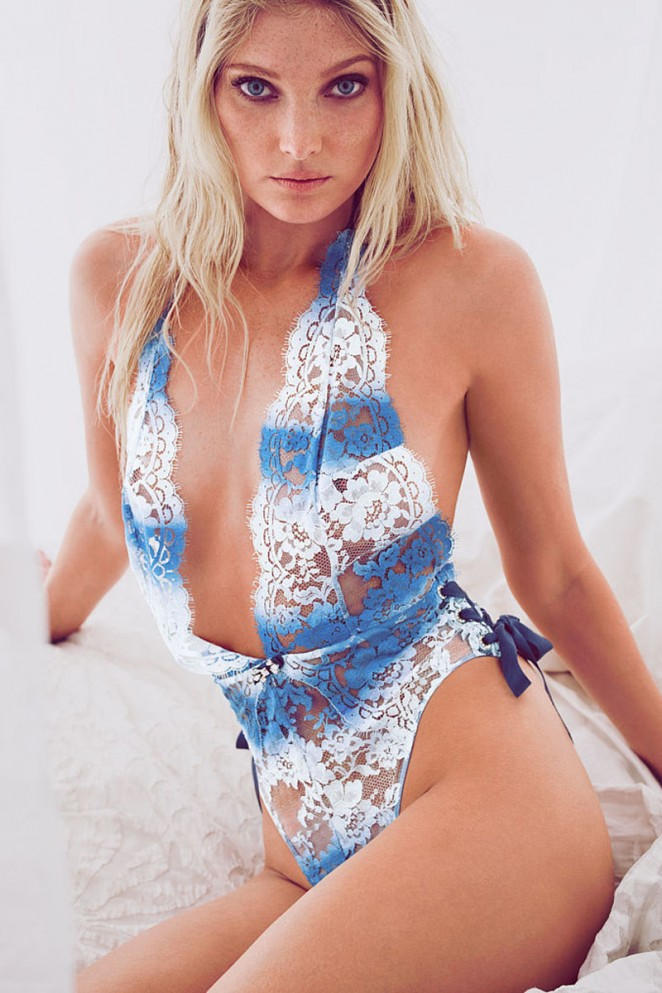 Elsa Hosk - Victoria's Secret May 2015 Lookbook