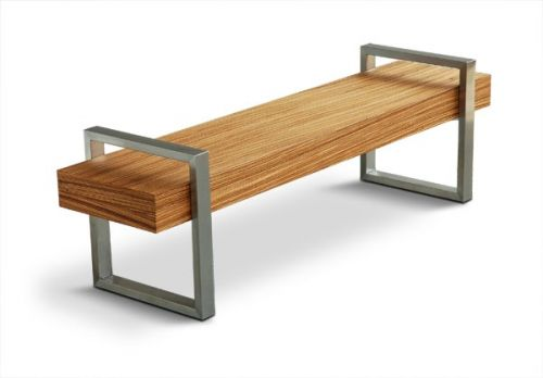 Mad for Mid-Century: Mid-Century Patio Bench