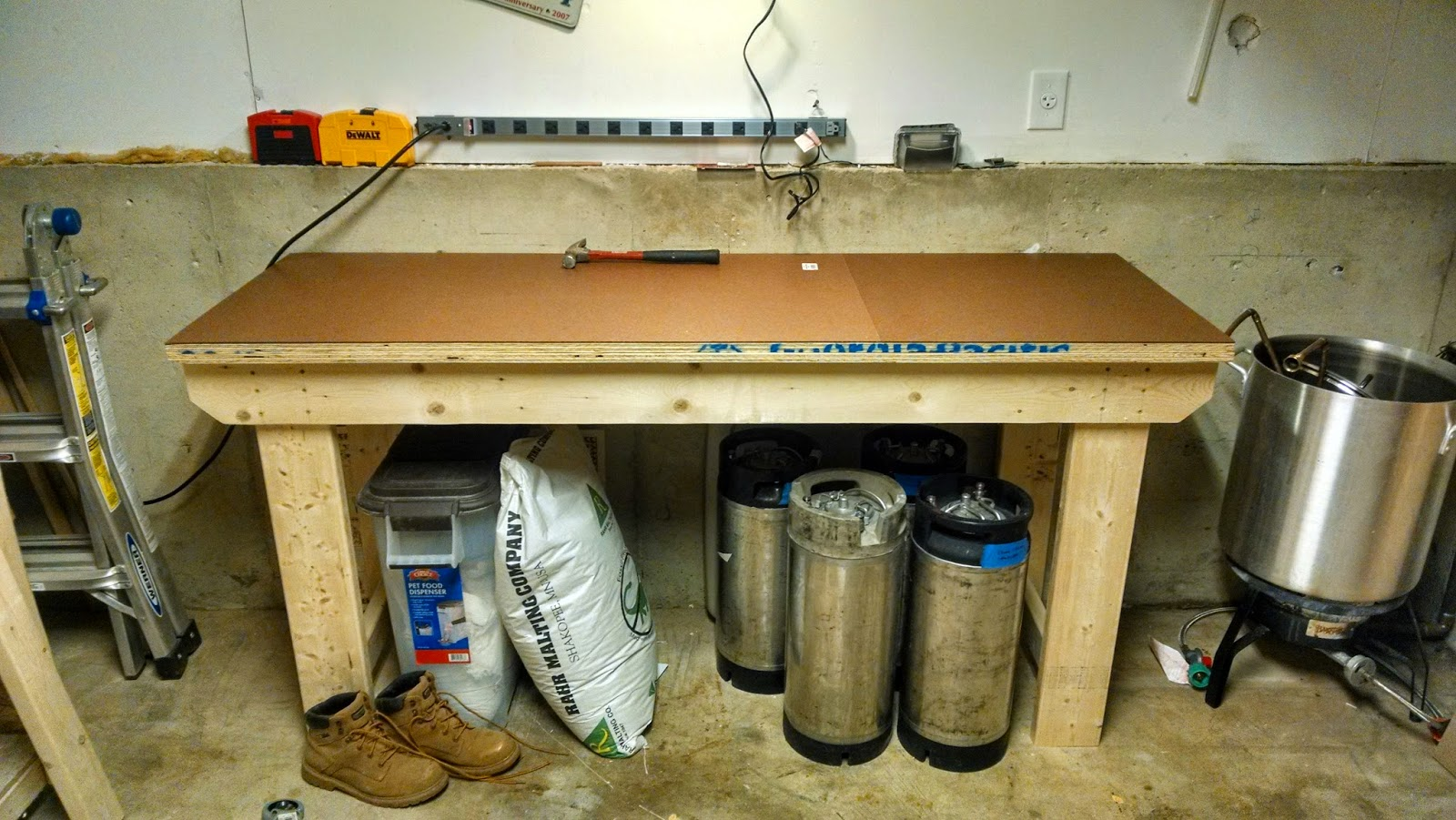 Finished Workbench