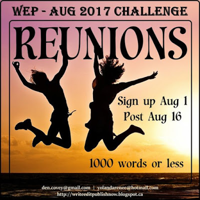 JOIN WRITE...EDIT...PUBLISH FOR THE AUGUST CHALLENGE!