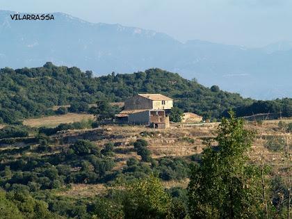 La masia de Vilarrassa des dels Camps de Cal Griva