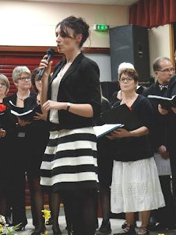 Marion Paillissé, notre cheffe de chœur
